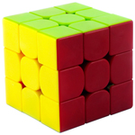 GuoGuan Yuexiao 3x3x3 Stickerless Speed Cube 55mm