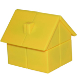 YongJun Magic House 2x2x2 Puzzle Yellow