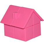 YongJun Magic House 2x2x2 Puzzle Pink