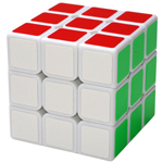 ShengShou Legend 3x3x3 Magic Cube White