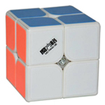 Mo Fang Ge Cavs 2x2x2 Speedcube 50mm White