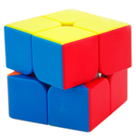 MoYu Weipo 2x2x2 Stickerless Speed Cube 50mm