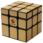 Cubetwist Unequal 3x3x3 Magic Cube Brushed Golden