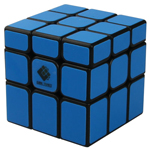 Cubetwist Unequal 3x3x3 Magic Cube Fluorescent Blue