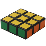 QJ 1x3x3 Floppy Cube Black