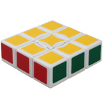 QJ 1x3x3 Floppy Cube White