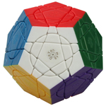 MF8 Crazy Megaminx Plus Stickerless Magic Cube