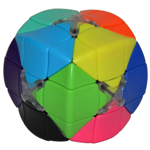 12-colcors 3x3 Stickerless Magic Cube