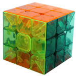 YJ MoYu YuLong Stickerless Speed cube Transparent