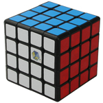 YuXin Blue Kylin 4x4x4 Speed Cube 60mm Black