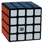 YuMo CangFeng 4x4x4 Magic Cube Black