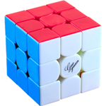 GuoGuan Yuexiao Full Bright 3x3x3 Stickerless Speed Cube 55m...