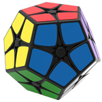Shengshou 2x2x2 Megaminx Magic Cube Black