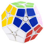 Shengshou 2x2x2 Megaminx Magic Cube White
