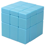 ShengShou Mirror Block 3x3x3 Speed Cube Blue