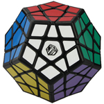 QiYi Galaxy Concave Megaminx Speed Cube Black