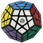 QiYi Galaxy Plane Megaminx Speed Cube Black
