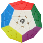 QiYi Galaxy Plane Stickerless Megaminx Speed Cube