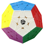 QiYi Galaxy Sculpture Stickerless Megaminx Speed Cube
