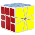 YongJun GuanLong SQ-1 Speed Cube 55mm White