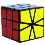 YongJun GuanLong SQ-1 Speed Cube 55mm Black