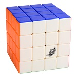 Cyclone Boys FeiYue 4x4x4 Screw Spring Magic Cube Colored