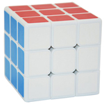 ShengShou 70mm Legend 3x3x3 Magic Cube White