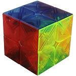YongJun YuPo 2x2x2 Magic Cube Transparent