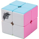 Cyclone Boys 2x2x2 Stickerless Speed Cube Pink Version