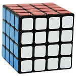 ShengShou Wind 4x4x4 Speed Cube Black