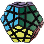 YongJun Guanhu Megaminx Magic Cube Black