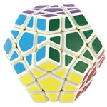 YongJun Guanhu Megaminx Magic Cube White