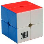 YuMo YueHun 2x2x2 Stickerless Magic Cube