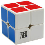 YuMo YueHun 2x2x2 Magic Cube White