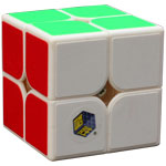 YuXin White Kylin 2x2x2 Speed Cube White