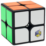 YuXin White Kylin 2x2x2 Speed Cube Black