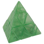 DaYan Pyraminx V2 Speed Cube Transparent Green