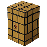 CubeTwist 3x3x5 Mirror Magic Cube Black/Golden