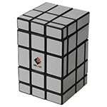 CubeTwist 3x3x5 Mirror Magic Cube Black/Silver