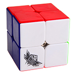Cyclone Boys FeiChang 2x2x2 Magic Cube Colored