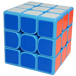 Shengshou FangYuan 3x3x3 Speed Cube 57mm Blue