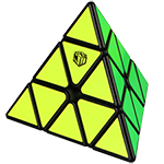 QiYi X-MAN Design Magnetic Pyraminx-Bell Black