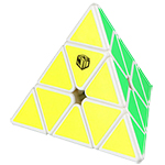 QiYi X-MAN Design Magnetic Pyraminx-Bell White
