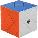 DaYan 4-Axis 5-Rank Stickerless Magic Cube Puzzle