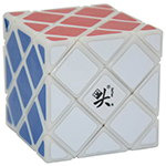 DaYan 4-Axis 5-Rank Magic Cube Puzzle White