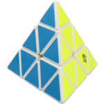 YongJun YuLong Pyraminx Magic Cube White