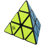 YongJun YuLong Pyraminx Magic Cube Black