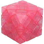 DaYan 4-Axis 5-Rank Magic Cube Puzzle Transparent Pink