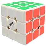 MHSS ChuFeng 3x3x3 Speed Cube White