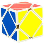 YongJun GuanLong Skewb Magic Cube White